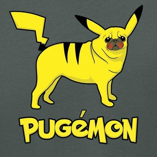 Pugemon - Damen T-Shirt - 14 Farben Dunkelgrau