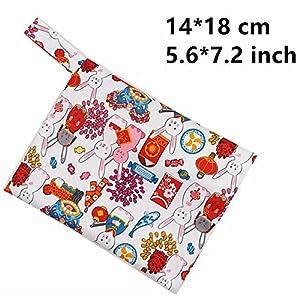 Menstrual Pads Bag, YIGO Washable Sanitary Towel Cloth Enstrual Pads Bag Washable Sanitary Pad Bag, can Keep Five Menstrual Pads (Panty Pad Bag)