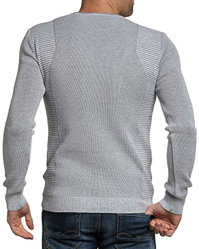 BLZ jeans - Pullover Ende graue Mann Grau
