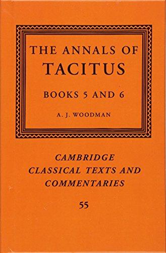 The Annals of Tacitus: Books 5-6 (Cambridge Classical Texts and Commentaries) por Tacitus