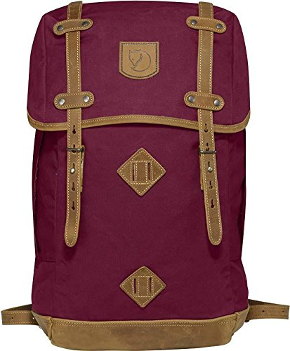 Fjällräven Rucksack No.21 Medium, Plum, 13 x 28 x 44 cm, 20 liters, 24205-420