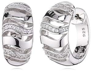 Esprit - ESCO90644A000 - Boucles d'Oreilles Femme - Argent 925/1000 9.6 gr - Oxyde de zirconium