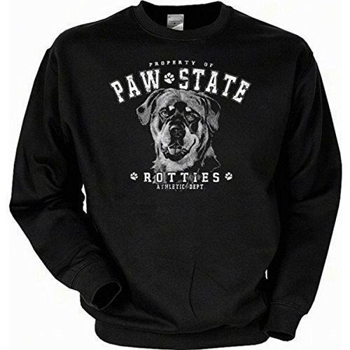 Hund Long Sleeve Tee (Hunde Sweatshirt: Rottweiler (Größe: S))
