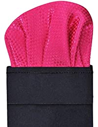 Tiekart men pink pocket square