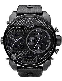 56e88acbf663 Diesel Big Daddy – dz-7193 – Reloj cronógrafo de acero negro ...