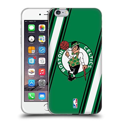 Offizielle NBA Einfach Boston Celtics Soft Gel Hülle für Apple iPhone 5 / 5s / SE Streifen