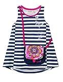 Desigual Girl Knit T-Shirt Straps (TS_Linx), Camiseta Niñas, Azul (Navy 5000), 116 (Talla del Fabricante: 5/6)