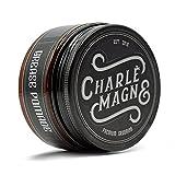 Charlemagne Grease Pomade - Mittlerer Halt - Edler Duft - Glanz Finish für die Haare - Styling Haar-Wachs für Herren/Männer - 100ML - Haar-Wax hergestellt in UK - Barbier Qualität