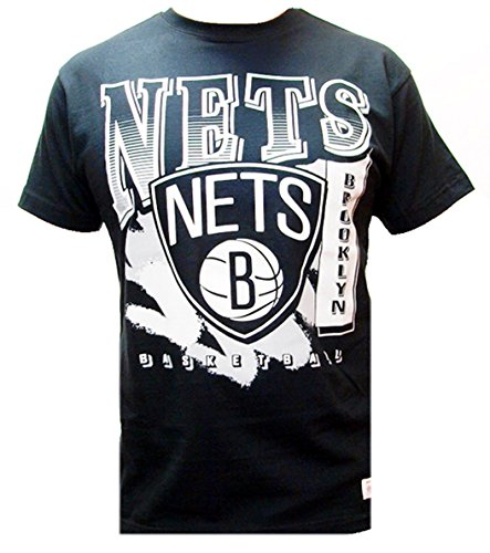 Mitchell & Ness NBA Brooklyn Nets Gradient Logo Shirt Black