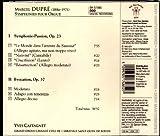 Dupré - Symphonie-Passion, Evocation (UK Import) -
