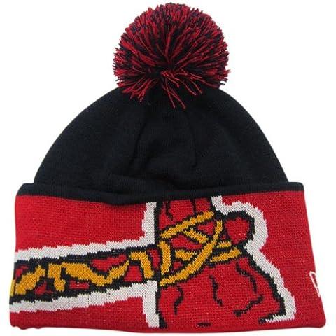 Atlanta Braves New Era MLB Major Cuff Knit Hat Cappello