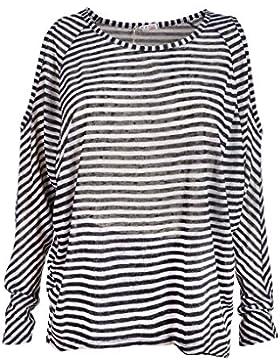 Italienische Mode - Camisas - Túnica - Rayas - para mujer