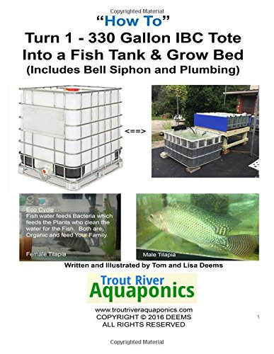 How to Turn 1 tote into a Fish Tank & Grow bed