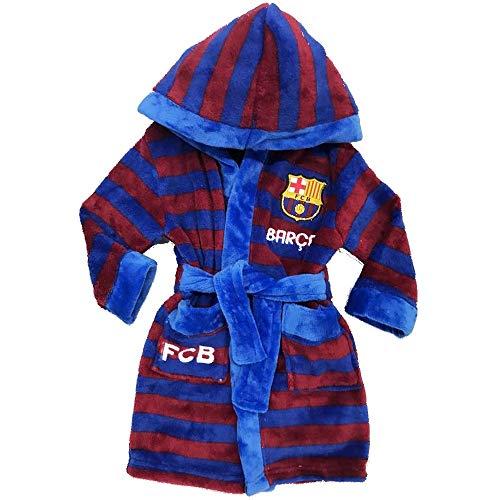 GUIZMAX Albornoz Polar FC Barcelona 4años Vestido
