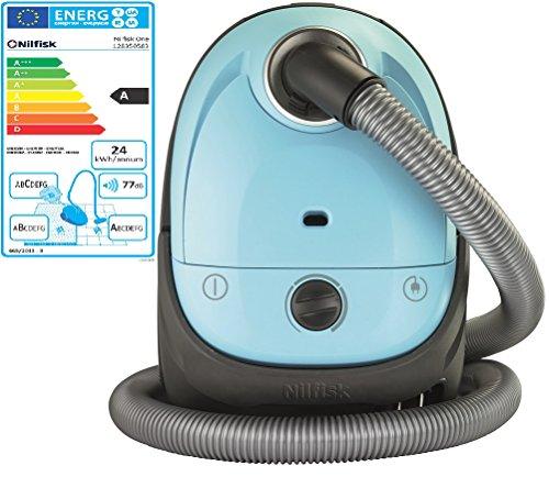 Nilfisk-128350583-Aspiradora-280-W-21-Litros-Negro-Azul