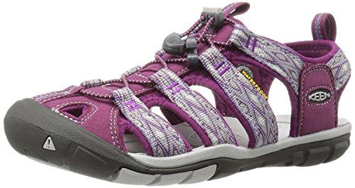 Keen Damen Clearwater Cnx Trekking-& Wandersandalen, Violett (Dark Purple/Purple Sage), 40 EU