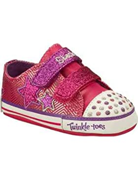 Baby Skechers Twinkle Toes Sparks Crib Shoes Pink