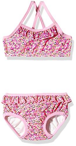 name it Baby - Mädchen Bikini Schwimmwindel Nitzelma Prism Pink (74 Herstellergröße: 74-80))