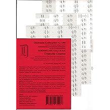 SCHÖNFELDER Griffregister Nr. 1286 (2017/2018): 192 selbstklebende und bedruckte Griffregister für die Sammlung SCHÖNFELDER: Deutsche Gesetze, ... Gesetzessammlungen markiert und zielsicher au