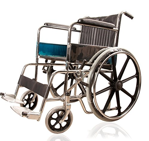 JSB W03 Wheelchair Foldable for Patients with Magwheel