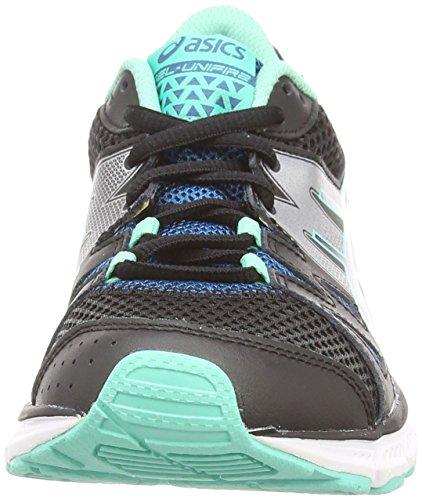 Asics Gel-unifire, Chaussures de Running Entrainement Femme Noir (black/onyx/mosaic blue 9099)