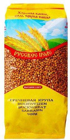 Preisvergleich Produktbild RusPole - Buchweizen Extra mit Dampf behandelt - - Karabugday (900g)