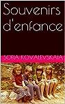 Souvenirs d'enfance par Kovalevskaïa