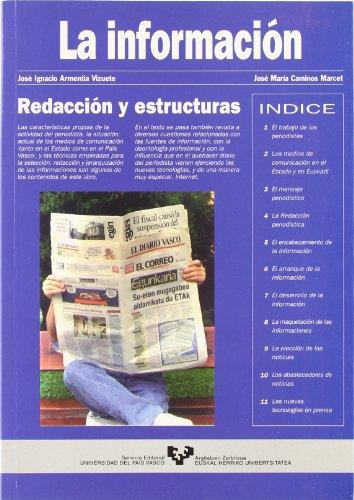 La información : redacción y estructuras