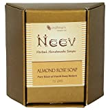 Neev Almond Rose Handmade Soap- Pure Eli...