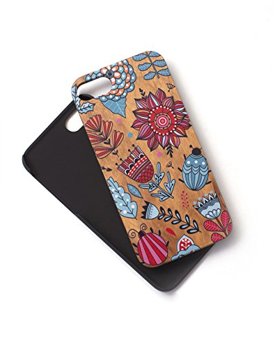 Tech Candy Woodie iPhone Fällen (Bitte beachten Sie iPhone Modell Spezifikationen), Graphic Doodlebug Woodie iPhone 7/7S Case -