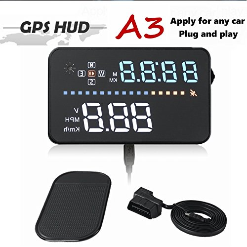 HUD Head-up Display A300 Car Universal HD OBD Driving Computer