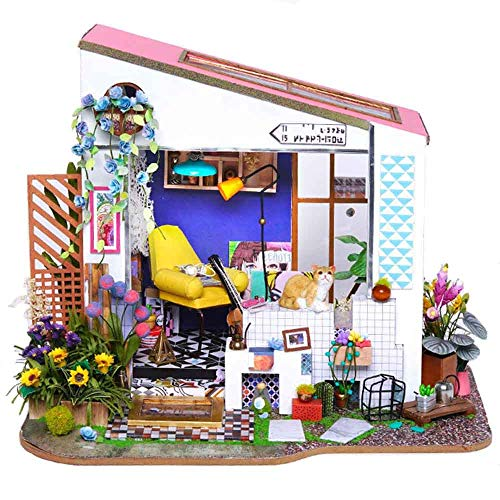 DIY Dollhouse Miniature Room Set...