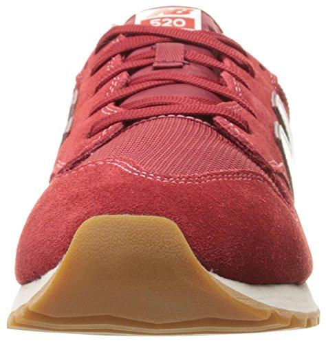 Basket, couleur Rouge , marque NEW BALANCE, modèle Basket NEW BALANCE U520 AH Rouge Red White