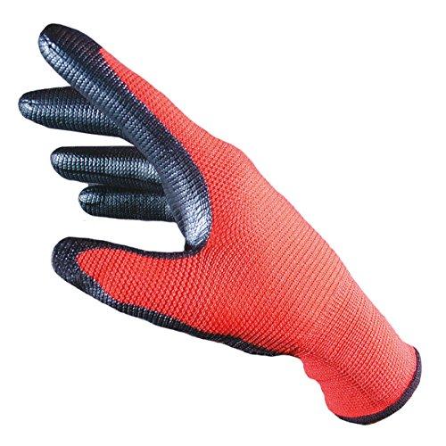 feuerwehrhandschuhe seiz SEIZ 200100#10 Red Mamba Strickhandschuh, Polyamid, XL/Größe 10, Rot (10-er Pack)