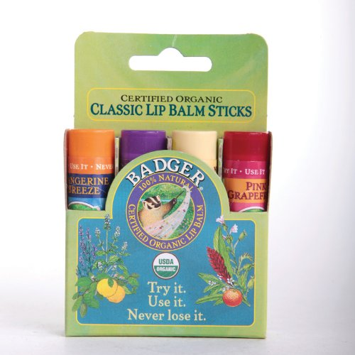 badger-balm-lip-gift-set-green-stick-tangerine-lavenader-vanilla-pink-grapefruit-organic