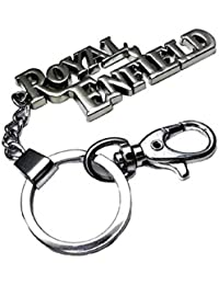 Generic Silver Royal Enfield Key Case