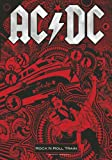 AC/DC Flagge - Rock n Roll Train - Posterflagge 100% Polyester