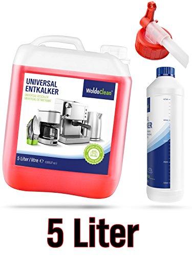Flüssig-Entkalker für Kaffeevollautomat Kaffeemaschine Kaffeeautomat Wasserkocher - 5 Liter...
