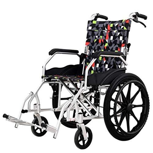 Rollstuhl Transit Handbremsen - Leichtes Tragbares Gerät Mit Hohen Griffen