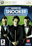 Cheapest World Snooker Championship 2007 on Xbox 360