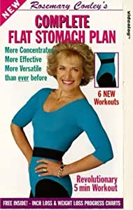 Rosemary Conley: Complete Flat Stomach Plan [VHS]