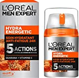 L'Oréal Men Expert Hydra Energetic Soin Hydratant Anti-Fatigue Visage Homme 50 ml...