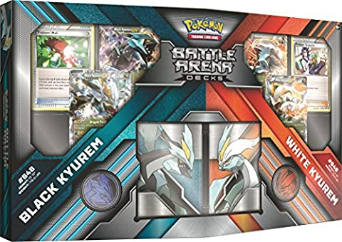Pokemon POK80284 Black vs White Kyurem Battle Arena Decks Trading Card Game