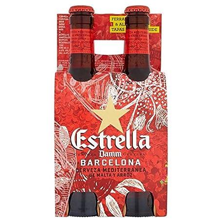 Estrella Damm 4 x 330 ml
