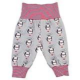 Eve Couture Mitwachshose Baby-Hose Junge Mädchen Pumphose Pinguin
