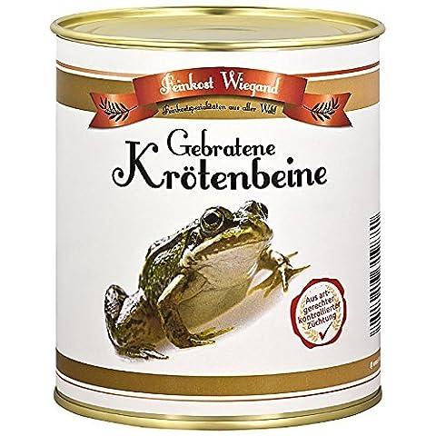 Krötenbeine aus der Dose - Scherzartikel - Spaßgeschenk - Nikolausgeschenk - Wichtelgeschenk - Weihnachtsgeschenk - Geburtstagsgeschenk - Mann Frau