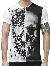 Religion Men T-Shirt Skull Crown