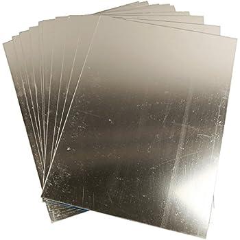 Miroir en plastique, feuille 29,5x21 cm, 1 feuille