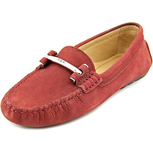 Lauren Ralph Lauren Caliana Donna US 6.5 Rosso Mocassini
