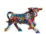 Gaudi Mozaïek: Bull Flowers: Beelden & Figuren
